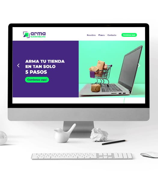 Website Armatutienda